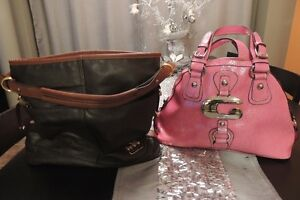 Coach brwon leather bag Kitchener / Waterloo Kitchener Area image 1