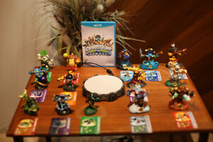 Skylanders Swap Force game and portal with 14 figures for Wii U