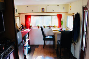 Tiny home / trailer for sale (27 ft.)  with wood stove!