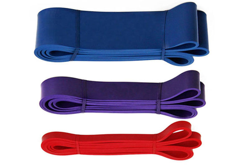 Pull Up Bands Resistance Loop Power Gym Fitness Exercise Yoga Strength Training Red+Purple+Blue