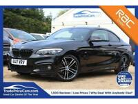 2017 17 BMW 2 SERIES 2.0 218D M SPORT 2D 148 BHP DIESEL