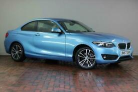 image for 2017 BMW 2 Series 218i Sport 2dr [Nav] Coupe Petrol Manual