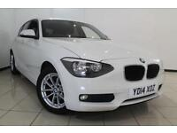 2014 14 BMW 1 SERIES 1.6 116D EFFICIENTDYNAMICS 5DR 114 BHP DIESEL