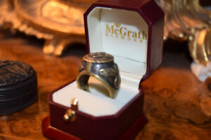 VERY rare German WWll honor Ring gift from Hitler to Family