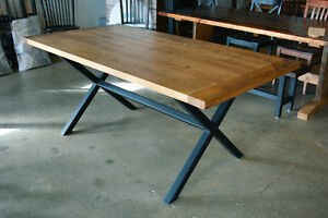 Custom Reclaimed & Live Edge Wood Dining Tables