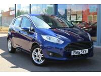 2015 FORD FIESTA 1.0 EcoBoost Zetec GBP0 TAX, B TOOTH, ALLOYS and DAB