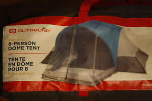 Outbound Dome Tent with Screen Porch, 8-Person