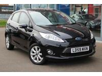 2009 FORD FIESTA 1.25 Zetec [82] ALLOYS, B TOOTH, HTD SCREEN and AIR CON