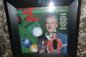 SIGNED PAUL NEWMAN AND TOM CRUISE