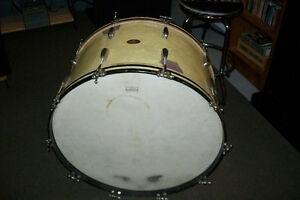 1940s SLINGERLAND RADIO KING 26 inch BASS DRUM Windsor Region Ontario image 3