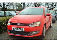 Volkswagen Polo 1.4 DSG 2010 SEL, 40K MILES,1 OWNER, FULL S/HISTORY, OCTOBER MOT
