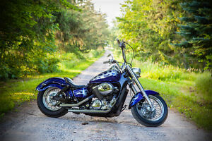 Honda Shadow Hardtailed Bobber - VT750 Ace