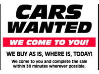 CAR VAN AND PRESTIGE CLASSIC WANTED MOTORHOMES CAMPERS AND UNFINISHED PROJECTS ALL WANTED