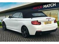 2018 BMW 2 Series 218I M SPORT Convertible Petrol Manual