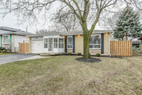 RENOVATED Beauty on a Quiet Court Backing onto GREENSPACE!