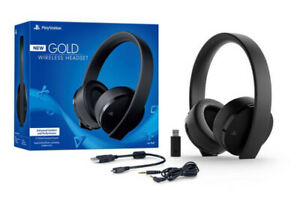 Sony Gold Wireless Headset - PS4 or PC (not sure about xbox)