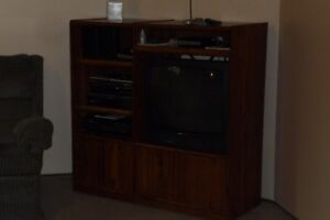 TV Stand, TV and Stereo Equipment-MUST SELL !!!