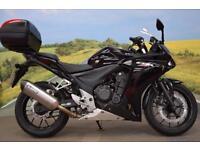 Honda CBR500R **Akrapovic Exhaust, Top Box, Oxford Heated Grips**