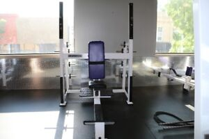 Exercise equipment- Military press