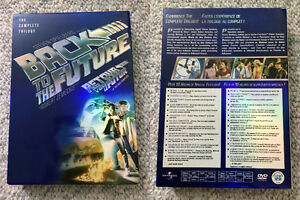 """Back to the Future"" DVDs"