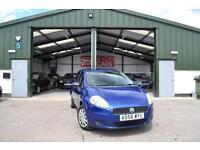 2007 Fiat Grande Punto 1.2 Active PETROL MANUAL BLUE