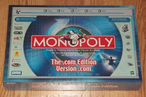 Monopoly The .com Edition / Version 2000 Sealed Brand New