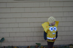 Spongebob Squarepants Halloween costume - 4T