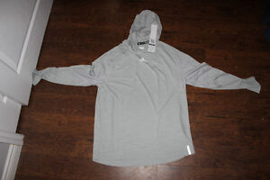 Never Worn Adidas Grey Pullover Hoodie