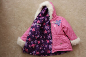 Barbie reversible and other girls coats