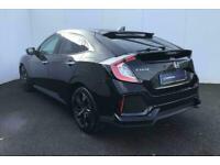 2019 Honda CIVIC HATCHBACK 1.5 VTEC Turbo Prestige 5dr CVT Auto Hatchback Petrol
