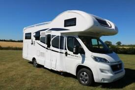 Rimor Superbrig 695TC 5 Berth Family Large Garage Motorhome 4 Belts MANUAL 2018