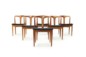 Danish Teak Dinning Chairs by Johannes Andersen