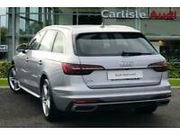 2020 Audi A4 40 TFSI 204 Sport 5dr S Tronic [Comfort+Sound] Auto Estate Petrol A