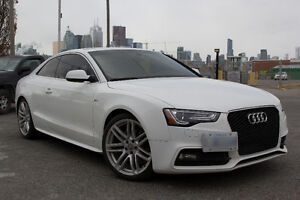 2016 Audi A5 Progressive plus Coupe + S line package