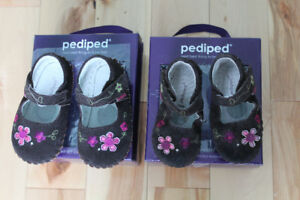 Souliers FILLE - Pediped - Originals  12-18 mois NEUF ET USAGE