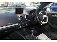 2018 Audi A3 HATCHBACK SPECIAL EDITIONS 1.5 TFSI Black Edition 3dr Hatchback Pet
