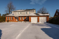 Enjoy waterfront living in this beautiful 4 bed, 3 bath home!