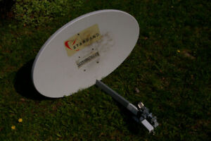 Eliptical Satellite Dish for FTA experimentation