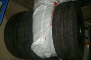 4 -15 INCH -- 215 65R15 NEXEN N5000 SUMMER TIRES FOR SALE