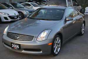 2006 Infiniti G35 Coupe - No Accidents - Certified & Warranty!