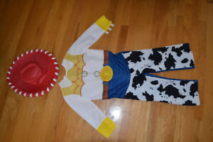 Costumes d'Halloween Lalaloopsy et Jessie 4-5 ans