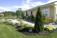 Total Privacy on this Waterfront Kelly Lake, 3 Bedroom one level