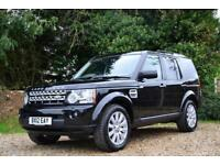 2012 LAND ROVER DISCOVERY 4 SDV6 HSE AUTO 7 SEATER ESTATE DIESEL