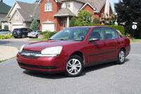 Chevrolet Malibu 2004 Comme Neuve Avec 8 Pneus/Rims D'Origine!