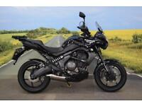 Kawasaki KLE650 Versys **Tank Pad, Heated Grips, Hand Guards, Top Box Rack**
