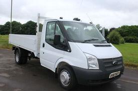 Ford Transit 2.2TDCi ( 125PS ) Dropside Truck 12 Reg 63000 Miles £9,995 + Vat