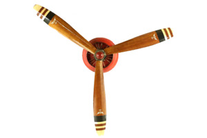 Propeller wall decor antique airplane models