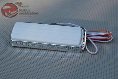 Chevy GM Pickup Truck Dome Light Lamp Lens Chrome Base Assembly C K 10 20 30 for sale  Chatsworth