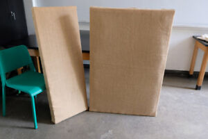 Sound Baffles For Rehearsal or Recording Space
