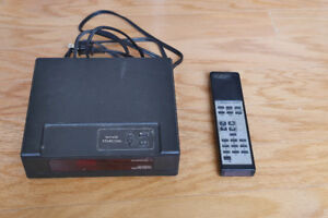 JERROD STARCOM TV converter/cable selector with remote control
